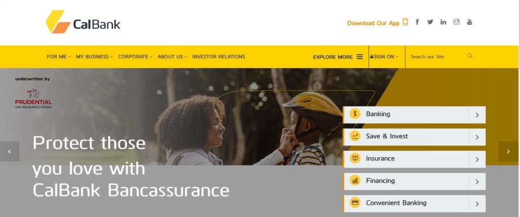 Cal Bank Branches In Accra – List of All The CalBank Offices With Contacts and GPRS location in Accra