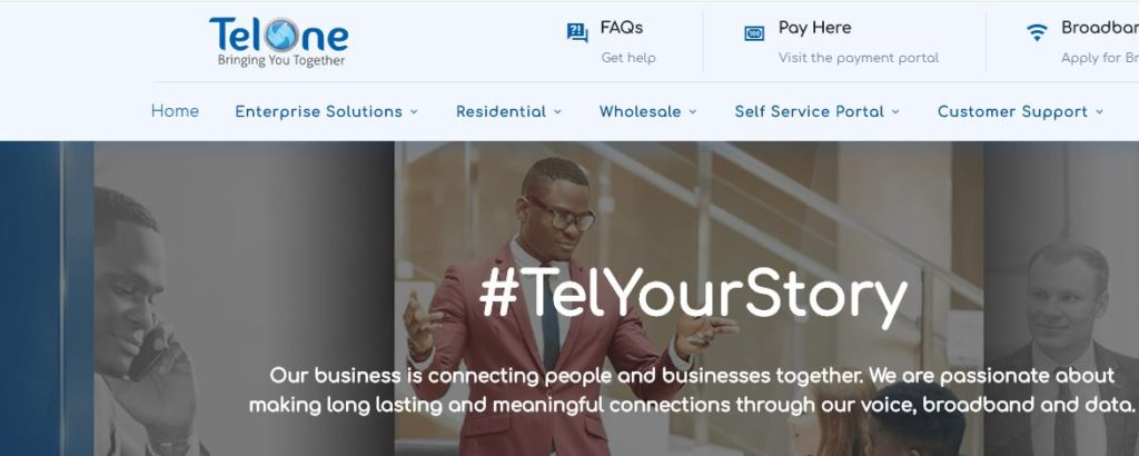 Telone Self-Service Login Complete Guide – TelOne Top-Up Packages For Zimbabwe